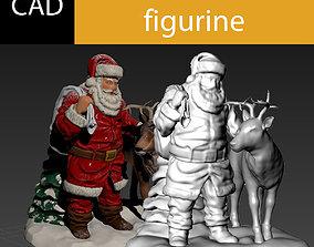 3D print model Santa claus figurine
