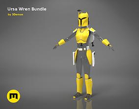 3D printable model Ursa Wren Bundle rebels