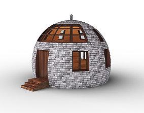 3D model Round Cone Eco Small