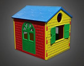 3D model PAP - Kids Playhouse - PBR Game Ready