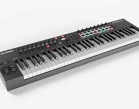 MIDI Keyboard M-Audio Oxygen PRO61 3D model