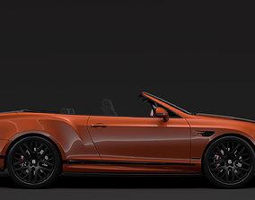 Bentley Continental Supersport Convertible 2018 3D