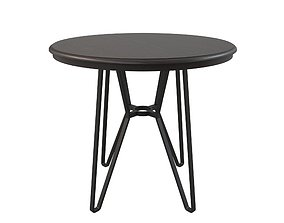 woodentable Round Table 3D model
