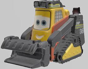 3D print model Tracteur Cars