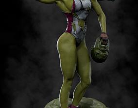 She-Hulk Model 3 3D print