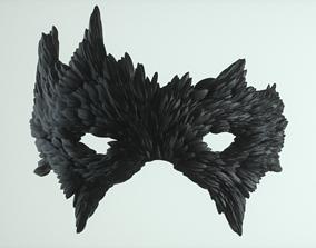 Carnival Mask - Raven 3D printable model