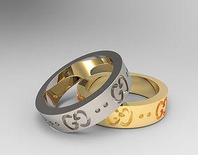 Ring Gucci 3D print model