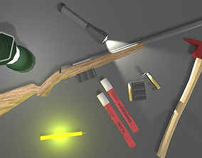 3D model Survival Starter Pack
