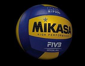 3D asset volley ball 3