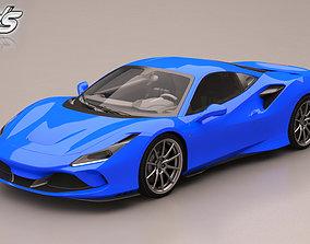 Ferrari F8 3D model