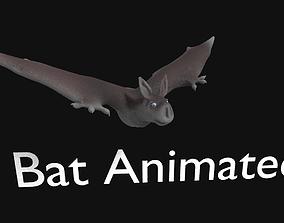animated bat 3d
