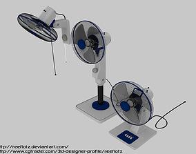 3D Electric Fan Set