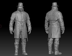 3D Detective ZBrush raw file