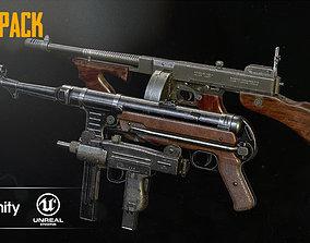 gun 3D SUBMACHINE GUN