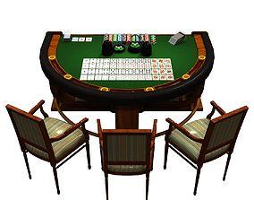 Casino Table 3D model