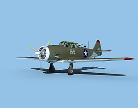3D model North American AT-6 Texan v01 USAAC