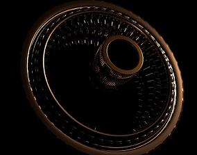 sci-fi wheel 3D model