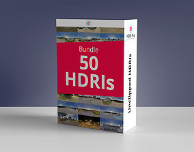 50 HDRIs Bundle 3D