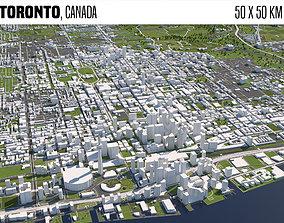 3D model Toronto Canada