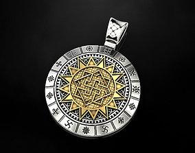 3D printable model Slavic amulet of Valkyrie