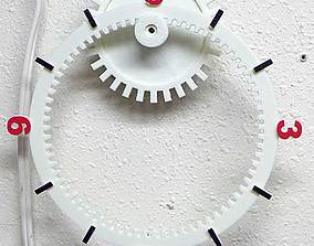 3D printable model Floating Gear Clock