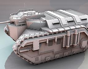 Isaurix Armoured Transport 3D print model