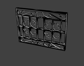 Window grate Italian Design 3D model