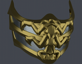 3D print model MK11 Scorpion Mask V4 - STL File