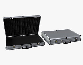 Two Briefcases 3D asset
