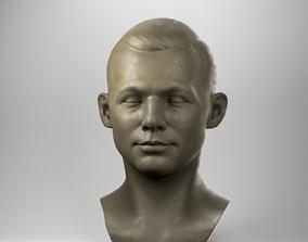 3D printable model Soviet cosmonaut Yuri