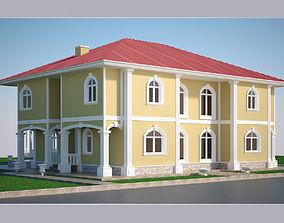 3D model Luxury Villa 002