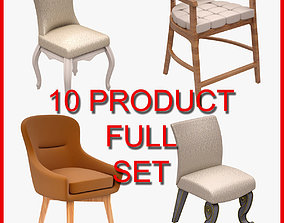 Chair Set 005 10 Product 3D