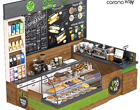 CoffeShop 3D model