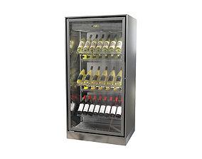 3D Wine cabinet Enofrigo Enogalax single side version 2