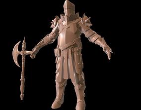 Heave Knight Hi poly 3D