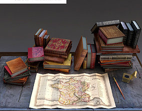 3D Livres anciens