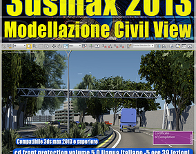 3dsmax 2013 Civil View v 5 cd front animated view