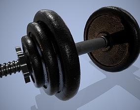 3D model Dumbbell - gym sport equipment dumbell