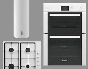 BOSCH and MAUNFELD home appliances collection 3D