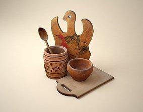 Kitchen stuff 3D model