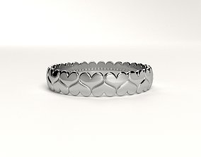 3D print model Valentine s day heart ring