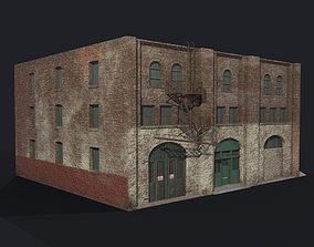 The Nate Starkman Building 3D WITHOUT LOGO low-poly