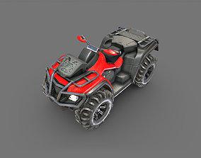 ATV Offroad bike 3D asset