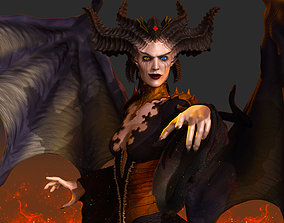 Lilith Diablo IV 3D print model