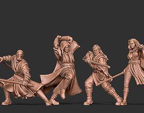 3D print model The Force Bundle - 5 sith jedi miniatures 1