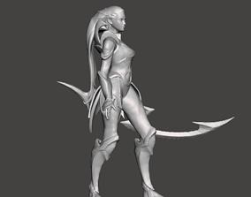 DIana 3D Model league