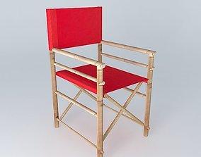 Armchair RED ROBINSON houses the world 3D