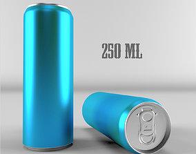 Soda Can 250ml 3D model