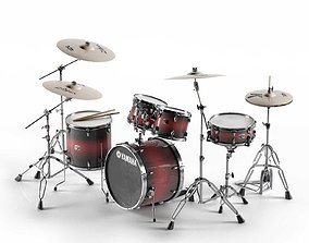 3D Acoustic Drum Sets drum