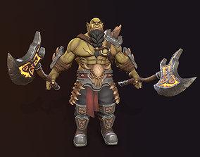 Orc-Berserker 3D model